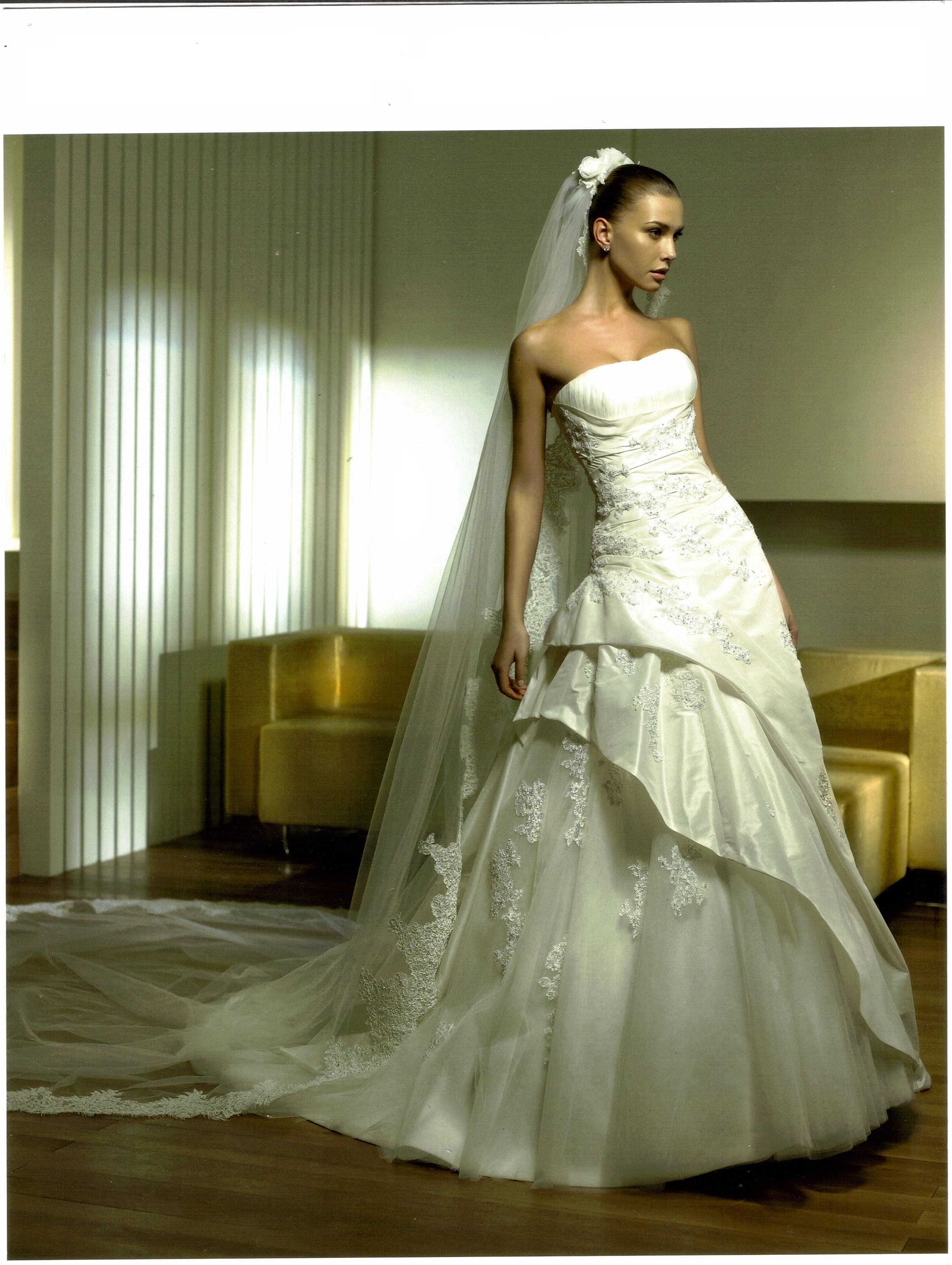 50011538ac Menyasszonyi ruha (MR-PALNETA) - Evelin Esküvői Ruhaszalon