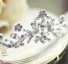 Menyasszonyi hajpántok, fejdíszek